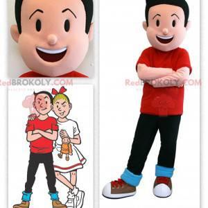 Famoso personaggio mascotte di Bob di Bob e Bobette -