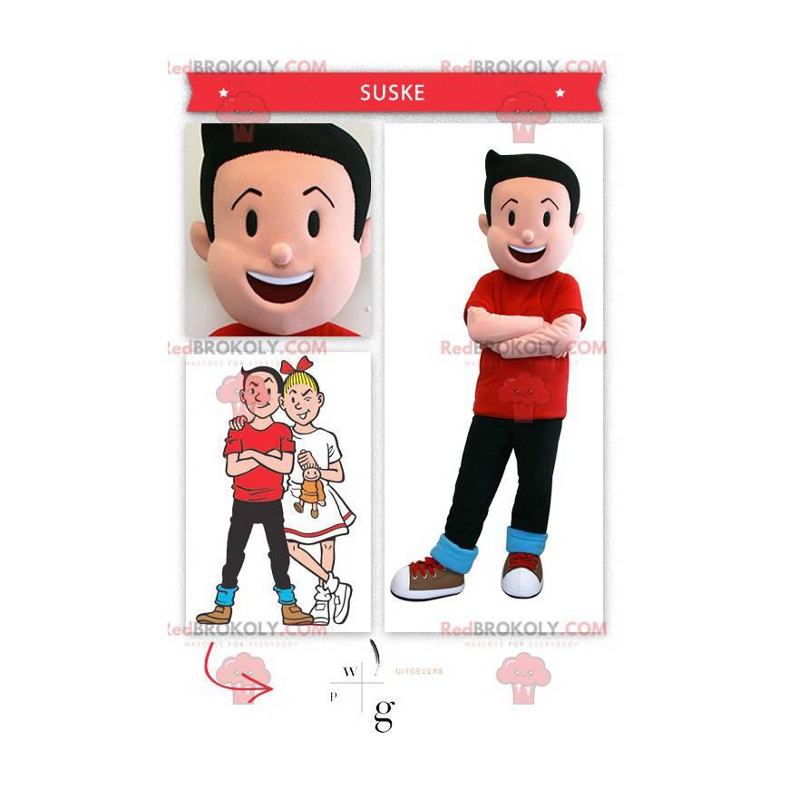 Bob mascot famous character of Bob and Bobette - Redbrokoly.com