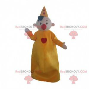 Clown maskot, cirkus karakter, cirkus kostume - Redbrokoly.com