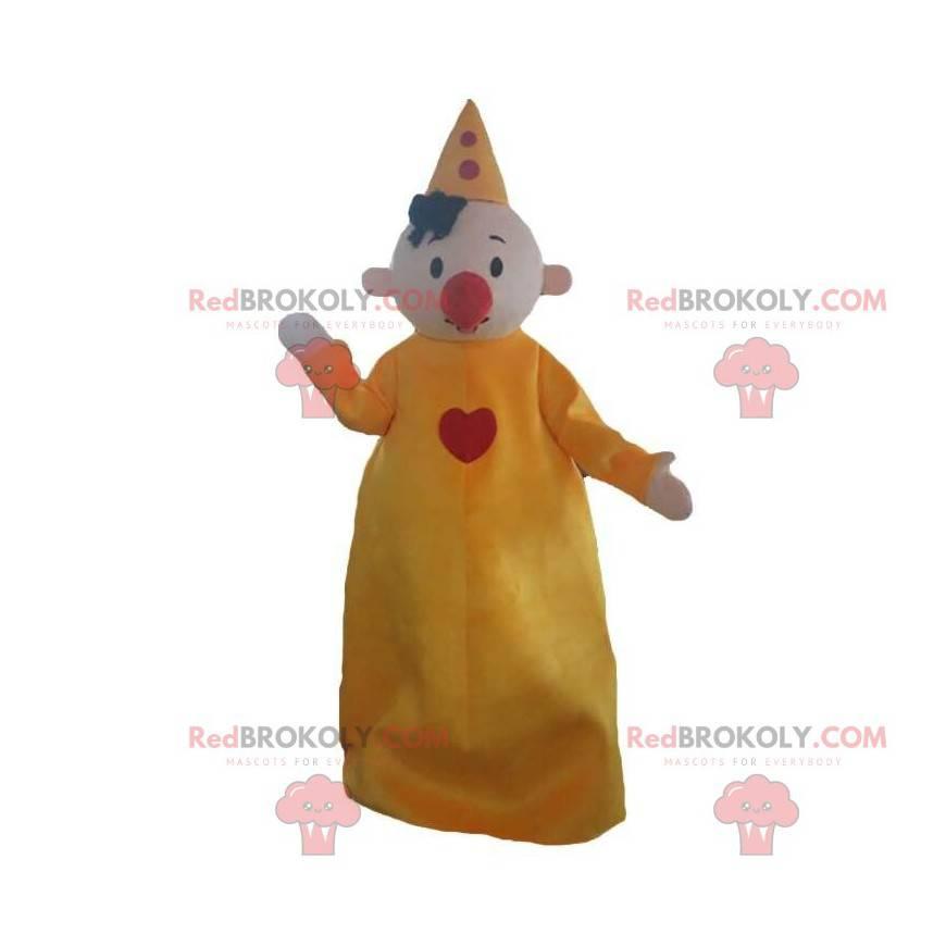 Clown mascot, circus character, circus costume - Redbrokoly.com