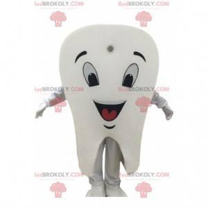Giant white tooth mascot, tooth costume - Redbrokoly.com