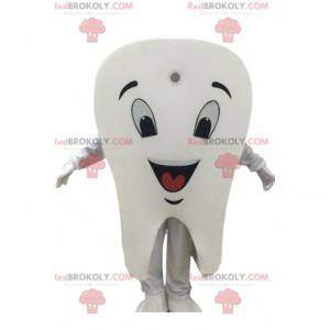 Maskotka gigant biały ząb, kostium ząb - Redbrokoly.com
