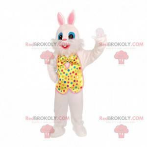 Festive rabbit mascot, rabbit costume for shows - Redbrokoly.com