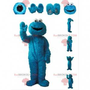 Mascot Macaron the Glutton, Cookie Monster costume -