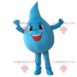 Giant blue drop mascot, drop shaped costume - Redbrokoly.com