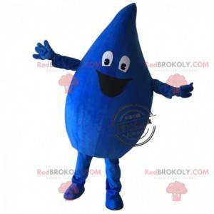 Dark blue drop mascot, giant drop costume - Redbrokoly.com