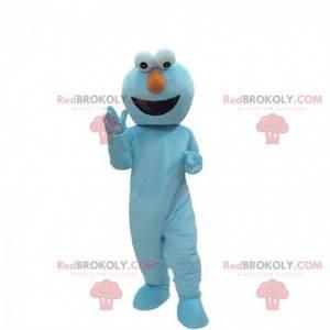 Maskot modré monstrum, macaron žrout kostým - Redbrokoly.com