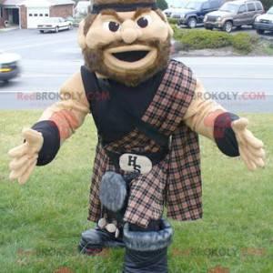 Mascote irlandês escocês - Redbrokoly.com