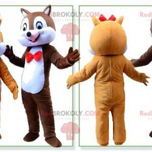 Maskotki wiewiórki, kostiumy Tic et Tac - Redbrokoly.com
