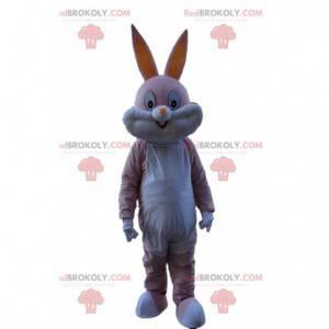 Pink Bugs Bunny mascotte, het beroemde konijntje van Looney
