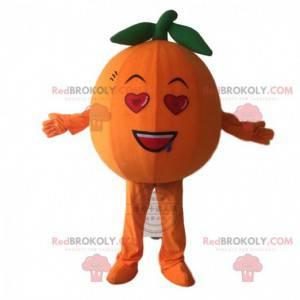Giant orange mascot, orange fruit costume - Redbrokoly.com