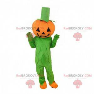 Mascote gigante de abóbora, fantasia de Halloween -
