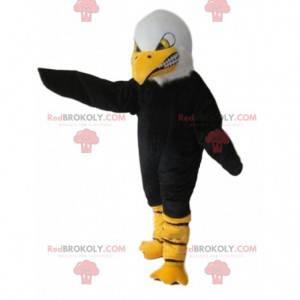 Divoce vypadající maskot orla, supí kostým - Redbrokoly.com