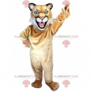 Puma mascot, cougar costume, feline costume - Redbrokoly.com