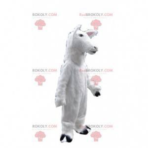 Schafmaskottchen, Lammkostüm, weißes Pferdekostüm -