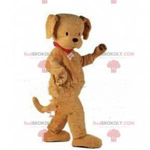 Plně přizpůsobitelný maskot hnědého psa - Redbrokoly.com