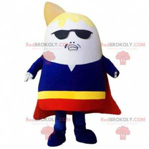 Unusual character mascot, superhero costume - Redbrokoly.com