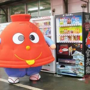 Mascota en forma de campana de cartón Tagine - Redbrokoly.com