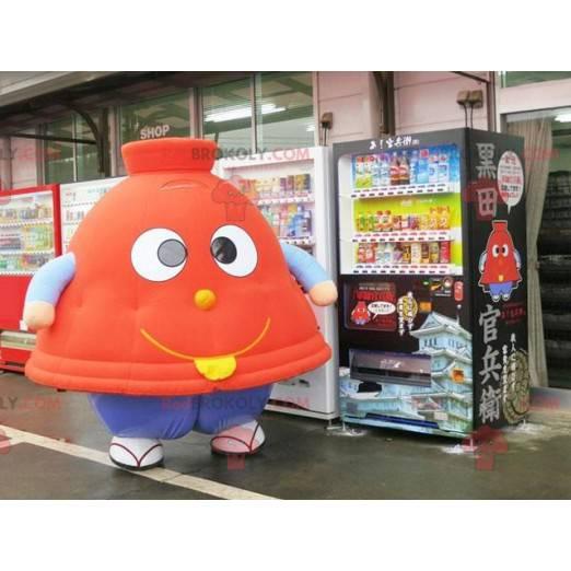 Tagine carton bell-shaped mascot - Redbrokoly.com