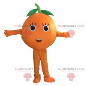 Gigant maskotka pomarańczowy, pomarańczowy kostium owoc -