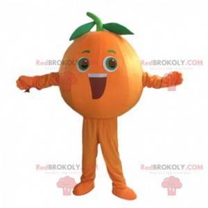 Kostium olbrzyma pomarańczy, kostium pomarańczowego owocu -