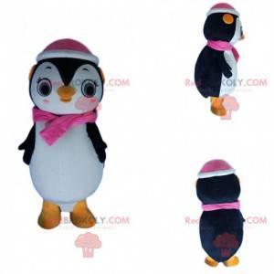 Maskot samice tučňáka, kostým z ledové kra - Redbrokoly.com