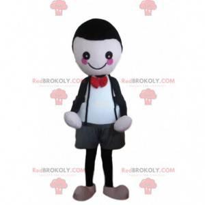 Maskot postavy, elegantní kostým malého chlapce - Redbrokoly.com