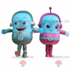 Alien mascots, futuristic monster costume - Redbrokoly.com