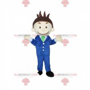Podnikatel maskot, obchodní muž kostým - Redbrokoly.com