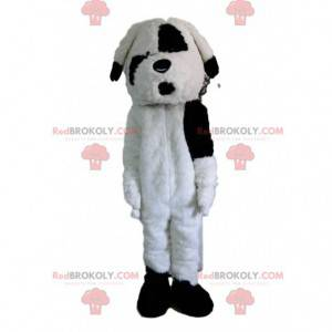 Schwarzweiss-Hundemaskottchen, Hundekostüm - Redbrokoly.com