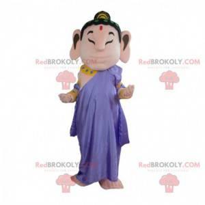 Buddha Maskottchen, religiöses, buddhistisches Kostüm -