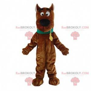 Maskot Scooby-Doo, známý kreslený hnědý pes - Redbrokoly.com