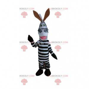 Costume of Marty, the famous zebra from the cartoon Madagascar
