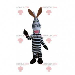 Kostume af Marty, den berømte zebra fra tegneserien Madagaskar