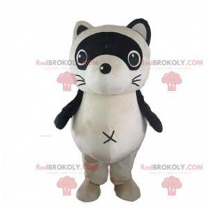 Mascote de guaxinim, fantasia de doninha, animal da floresta -
