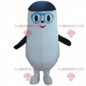 Mascota de pingüino simplista, disfraz de pingüino -