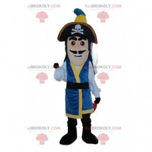 Mascote pirata, fantasia de capitão pirata - Redbrokoly.com