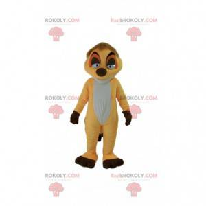 "Mascot Timon, famous cartoon meerkat ""The lion king"" -"