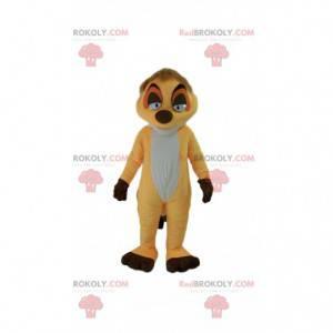 "Mascote Timon, famoso cartoon suricato ""O rei leão"" -"