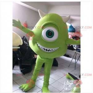 Bob Razowski mascot famous character from Monsters, Inc. -