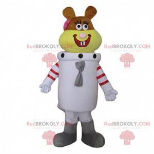 Mascote Sandy, o esquilo astronauta em SpongeBob SquarePants -