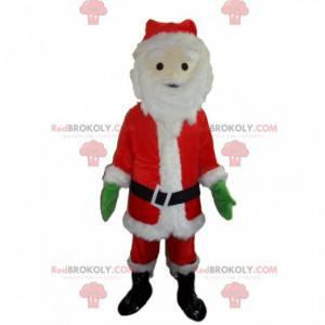 Maskot Santa Clause, vánoční kostým, zimní kostým -