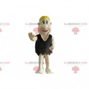 Mascot Fred Flintstones, famoso personaje prehistórico -