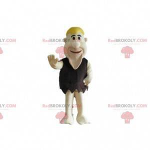 Mascot Fred Flintstones, famous prehistoric character -