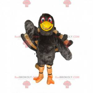 Kæmpe kalkun maskot, påfugl kostume vognhjul - Redbrokoly.com