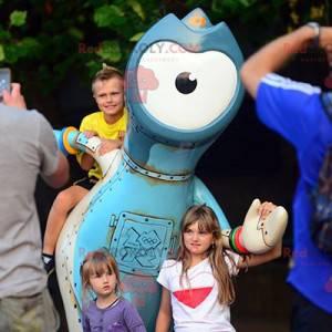 Buitenaardse mascotte - mascotte Olympische Spelen 2012 -