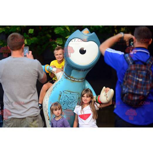 Alien mascot - 2012 Olympic Games mascot - Redbrokoly.com