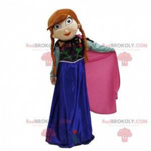 Mascot Frozen, costume da principessa - Redbrokoly.com