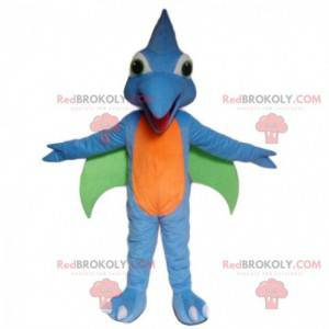 Létající dinosaurus maskot, prehistorický pták kostým -
