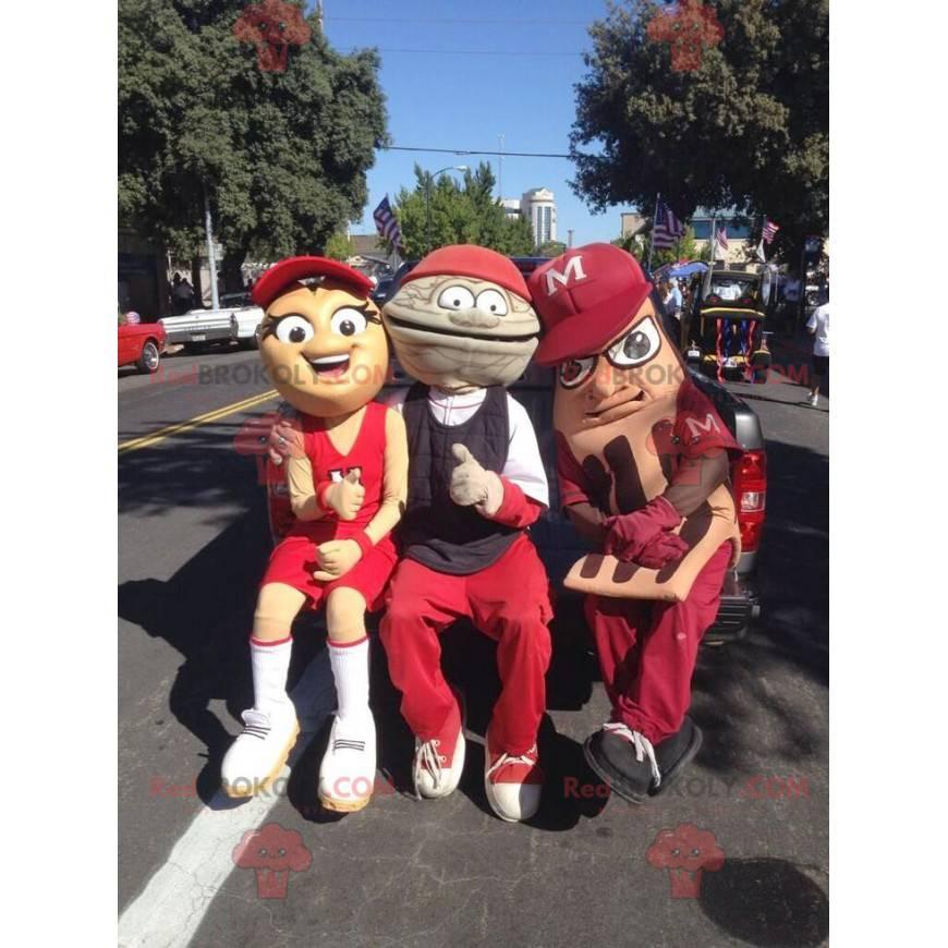 3 atypičtí a usměvaví maskoti - Redbrokoly.com